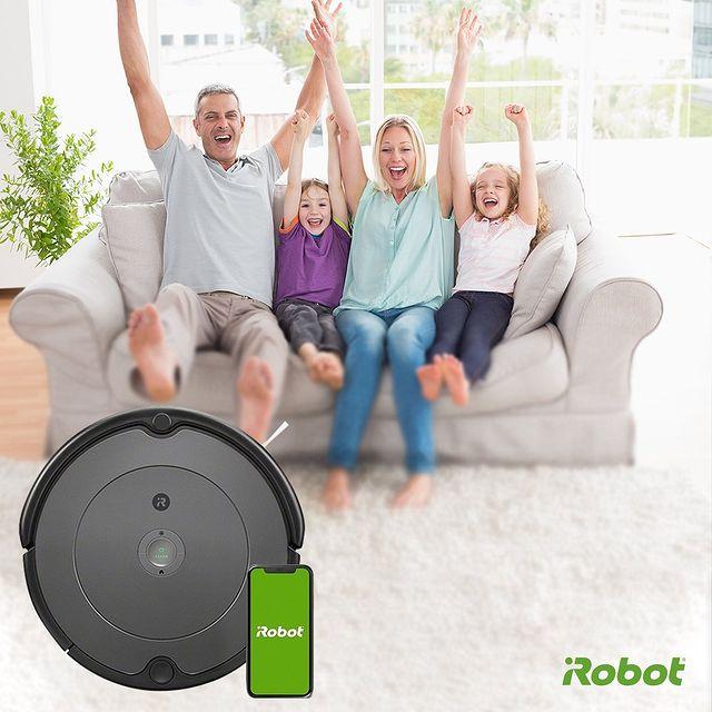 Roomba 693 robot süpürge, kaliteli temizlik için ihtiyacınız olan her şeyi sunar. 💚  #iRobot #Roomba693 #RobotSüpürge