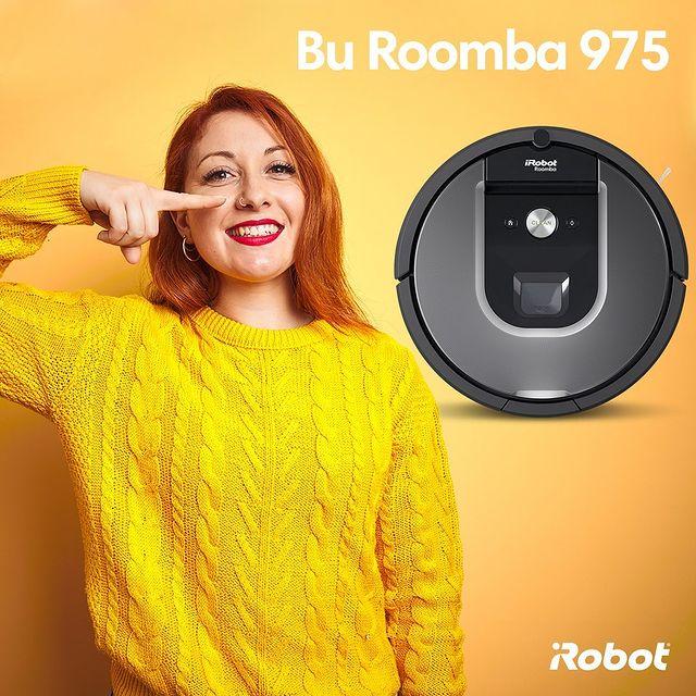 Bu Roomba 975… Evinizin kaliteli kamera navigasyonu ile 185m2'ye kadar temizleme özelliğine sahip iyi donanımlı bir modeldir. 💚  #iRobot #Roomba975 #RobotSüpürge