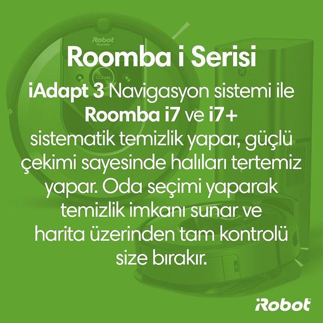 Aklınızda bulunsun… 💚  #Roombai7 #Roombai7Plus #iRobot #RobotSüpürge
