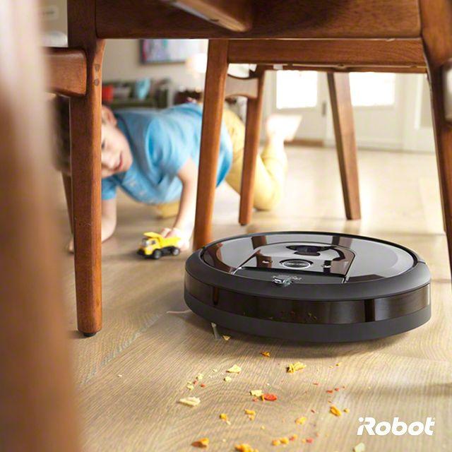 """İyi ki Roomba i7'im var..."" 😇😇😇  dediğinizi duyar gibiyim.  #Roombai7 #Roombai7Plus #iRobot #RobotSüpürge"