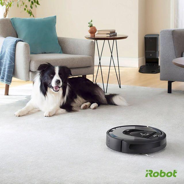 Evinizdeki evcil hayvan tüylerini ve tüm toz kalıntılarını Roomba i7+'ın üstün temizleme performansına bırakın.  Unutmayın, her robot süpürge Roomba değildir. 💚🤖  #iRobot #Roombai7Plus #Roombai7 #RobotSüpürge
