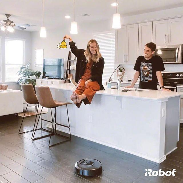 Roomba ile temizliği eğlenceye dönüştürün.   #iRobot #Roomba #AkıllıRobotSüpürge #RobotSüpürge #VaktinizSizeKalsın